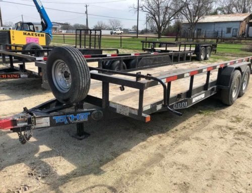 20' Low Boy Utility Trailer