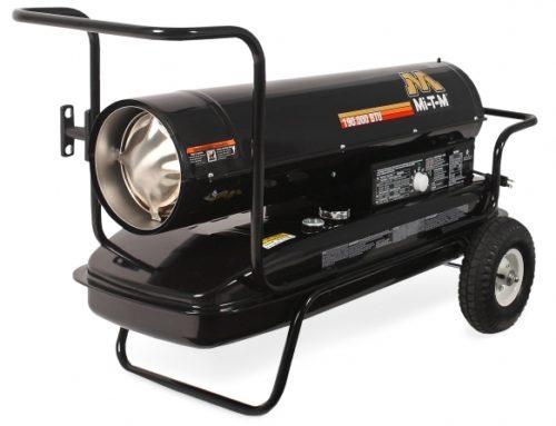Direct Heater, 190,000 BTU, Kerosene/Diesel