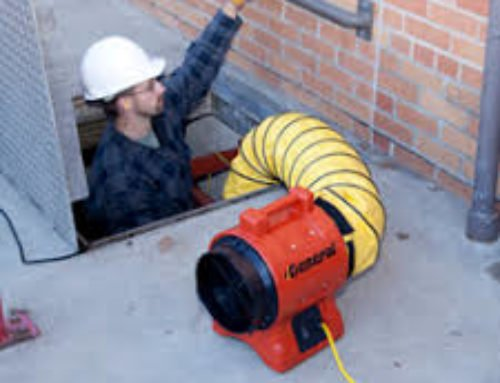 Man Hole Blower 8""